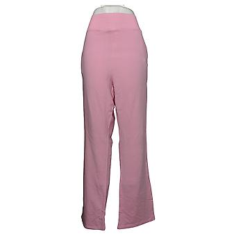 WVVY By Fitty Britttty Women's Plus French Terry Lounge Pant Pink 732874