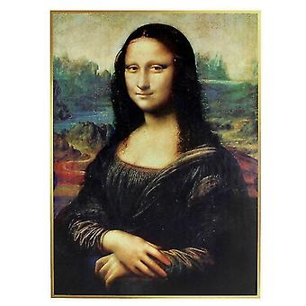 3D Pieces Jigsaw Mona Lisa Puzzle Funny Family Game Best Gift For Children|Model Building Kits