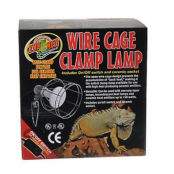 Zoo Med Wire Cage Clamp Lamp - 1 Pack - (150 Watts Max)