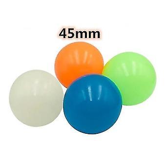 4-częściowy zestaw świecących kulek do squasha z przyklejaniem ściennym (4 szt45 mm)