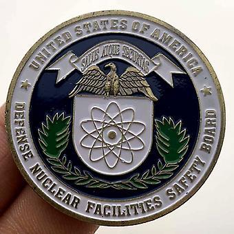 St. Michael's Patron Saint Badge Bronze Medaille Sammlermünze Goldmünze Münze Gedenkmünze