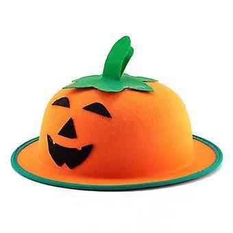 Halloween Party Pumpkin Fisherman Hat Ghost Festival Masquerade Dome Felt Props
