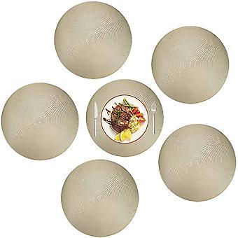Sklisikker rund bordmatte