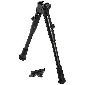 UTG Deluxe Picatinny & Swivel Stud Mount Rubber Stand Shooter's Bipod