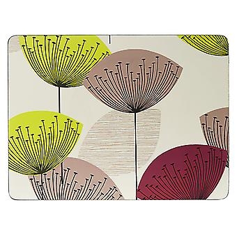 Pimpernel Dandelion Clocks Placemats Set of 6