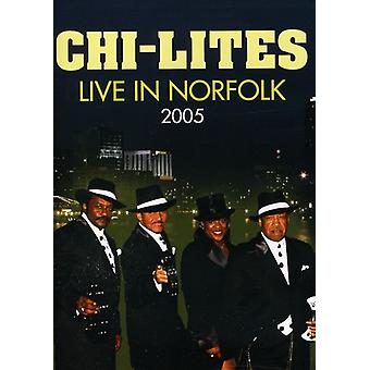 Chi-Lites - The Chi-Lites: Live in Norfolk 2005 [DVD] USA import