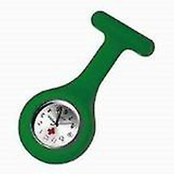 Новый моды силиконовые медсестры брошь туника ФОБ часы на Boolavard TM. (13 - зеленый)