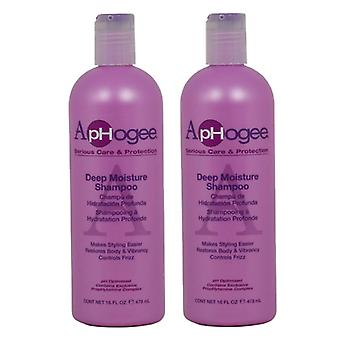 Aphogee Deep Moisture Shampoo 473ml (2-Pack)