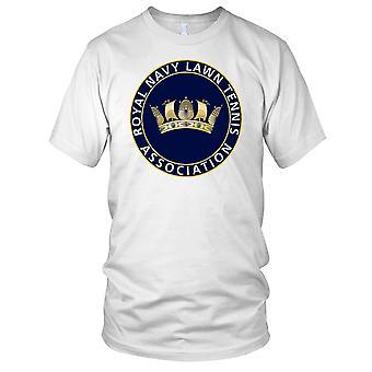 Royal Navy Lawn Tennis Mens T-skjorte