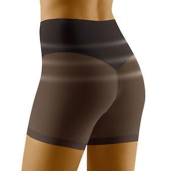 Wolbar Women's Relaxa Siyah Şekillendirme Yüksek Bel Uzun Bacak Kısa