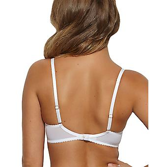Gossard 11111 Women's Gypsy White Lace Non-Padded Underwired Support Coverage Full Cup Bra