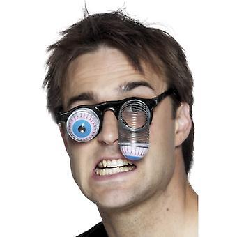 Óculos com mola de metal de suspensão