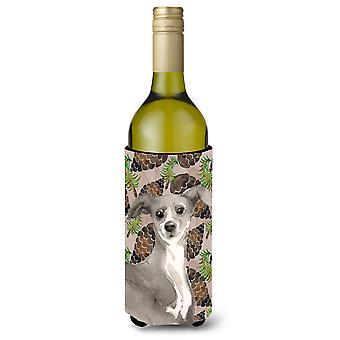 Galgo italiano pinho Cones garrafa de vinho Beverge isolador Hugger