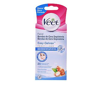 Veet Bandas De Cera Depilatorias Faciales Piel Sensible 20 Uds For Women