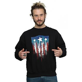 مارفل الرجال & apos;ق كابتن أمريكا درع العلم سترة