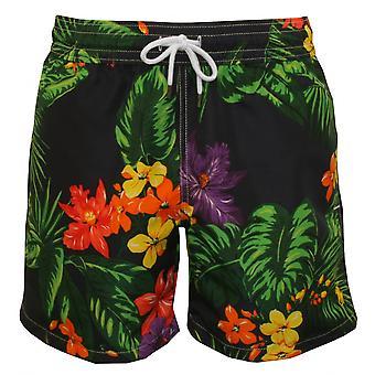 Polo Ralph Lauren Floral reiziger zwemmen Shorts, Navy/Multi