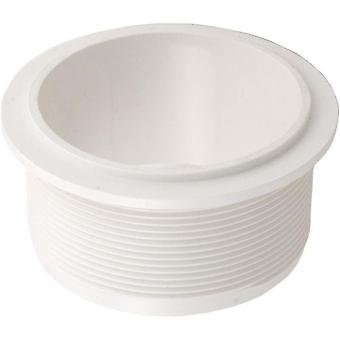 "Balboa 31-4007WHT 2"" 3-Way Valve Fitting - White"