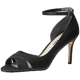 Nina Womens FLO Open Toe Ankle Strap D-orsay Pumps