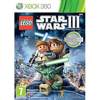 LEGO Star Wars III (Xbox 360) - Uusi