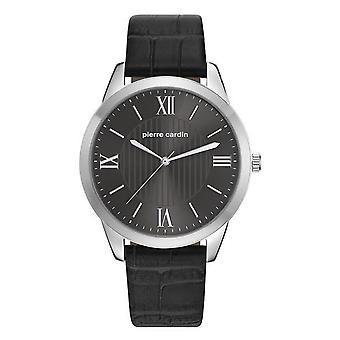 ピエールカルダン メンズ ウォッチ腕時計革 PC107891F02