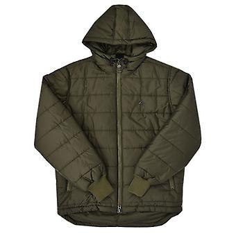 LRG Warbucks Hooded Puffer Jacket Olive