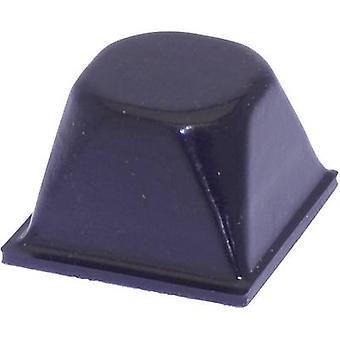 """أسود """"تولكرافت PD3206SW القدم"""" ذاتية اللصق، التعميم (Ø س ح) pc(s) 20.5 مم × 13.2 مم 1"""