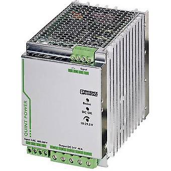 Phoenix Contact QUINT-PS/3AC/24DC/40 rautatie asennettu PSU (DIN) 24 Vdc 40 A 960 W 1 x