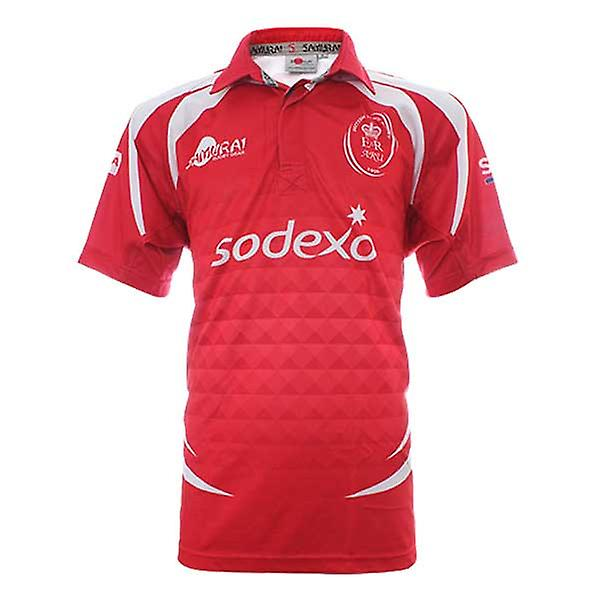 SAMURAI British Army Rugby Union Home Rugby Shirt [red]