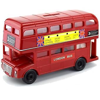 Union Jack dragen grote Londen rode Bus spaarpot