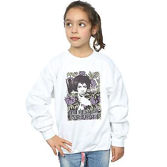 Jimi Hendrix jenter Vogue Floral Sweatshirt