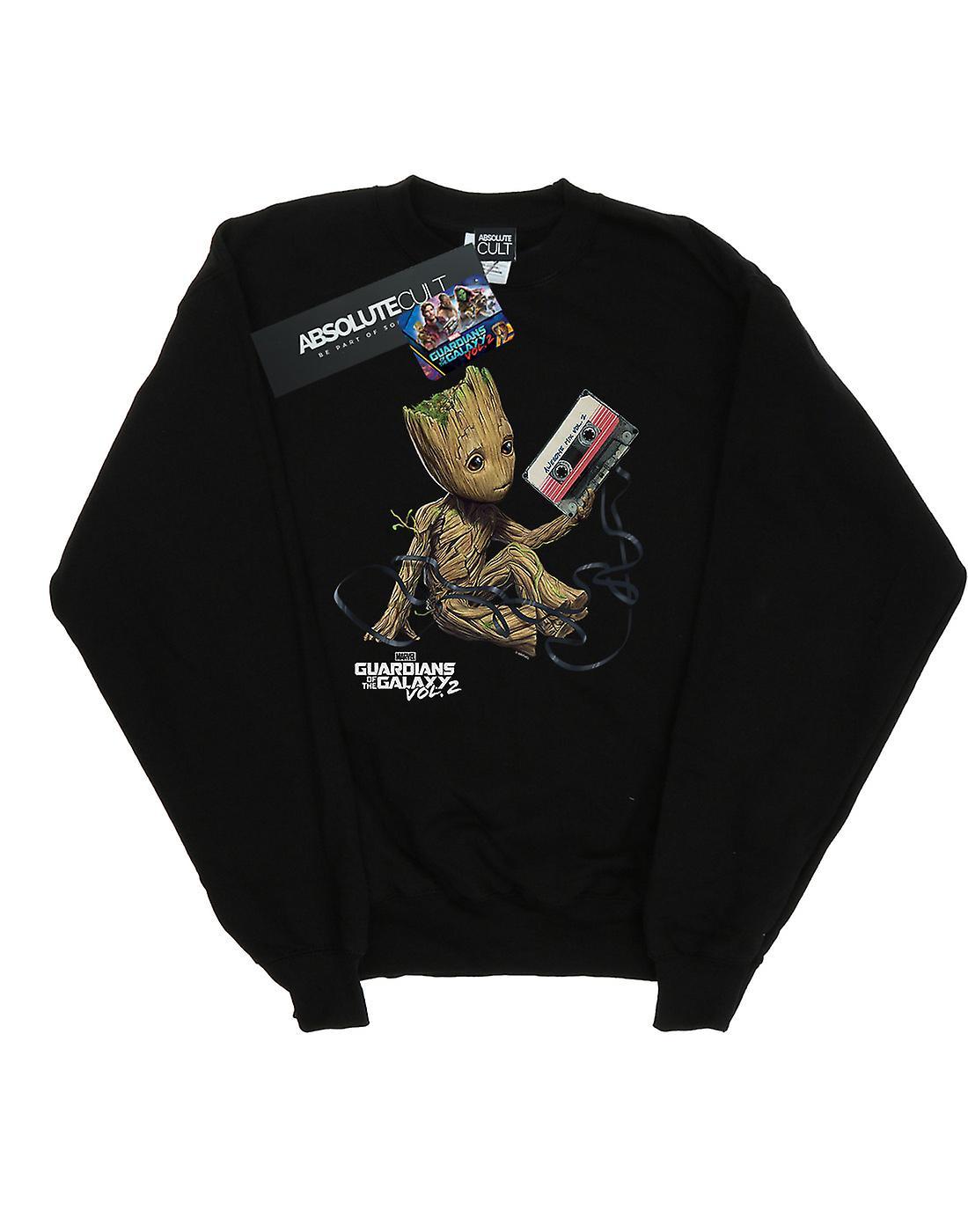 Marvel Women's Guardians Of The Galaxy Groot Tape Sweatshirt