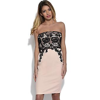 Paper Dolls Flattering Lace Bandeau Dress
