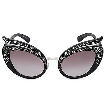Miu Miu Cat Eye Sunglasses SMU04TS 07H3E2 53