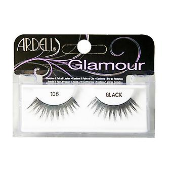 Ardell glamour wimpers 106 zwart