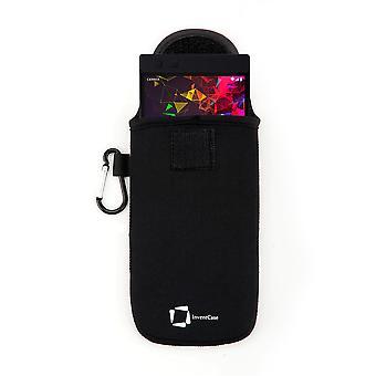 InventCase Neoprene Protective Pouch Case voor Razer Phone 2 2018 - Zwart