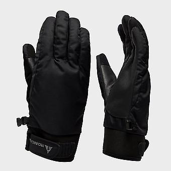 New Technicals Men's Soft Leather Waterproof Hand Gloves Black