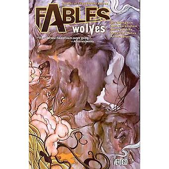 Fábulas - Volume 08 - lobos por Mark Buckingham - Shawn McManus - Bill W