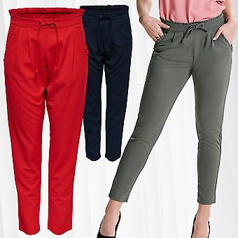 JDYCATIA Women's Pants Poptrash Trousers Casual Loose Stretch Jacqueline de Yong