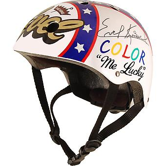 Kiddimoto Official and Signed Evel Knievel Helmet