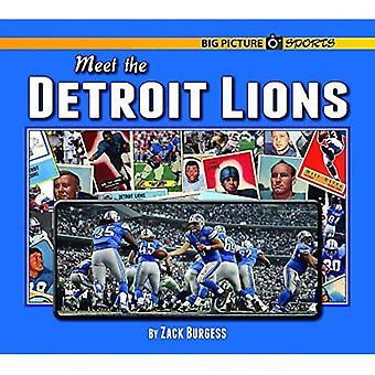 Möta Detroit Lions (stora bilden sport)