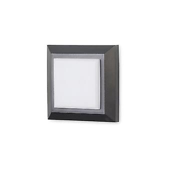 Forlight - Grove Square LED Outdoor Wall Fixture PX-0129-NEG