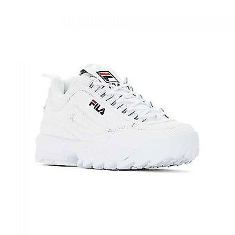 Sportowe buty wiersza wiersza Disruptor Ii White Navy Red 0000067305_0
