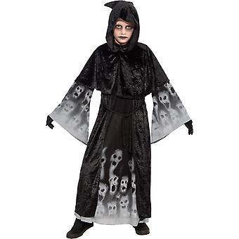 Costume enfant noir âmes