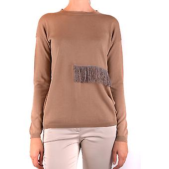 Fabiana Filippi Ezbc055035 Femmes-apos;s Brown Cotton Sweater