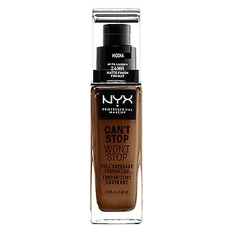NYX PROF. MAKEUP Can ' t stop Won ' t stop Foundation-Mocha