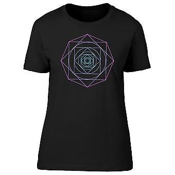 Círculo geométrico Tee hombre-imagen de Shutterstock
