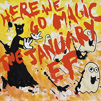 Här går vi Magic - januari EP [CD] USA import