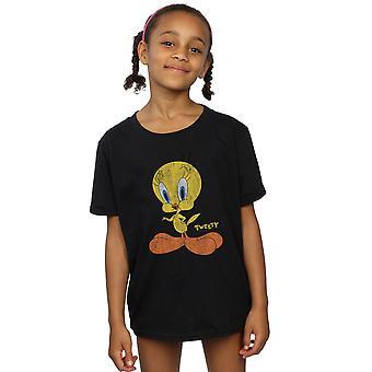 Looney Tunes dievčatá tweety koláč zúfalý T-shirt