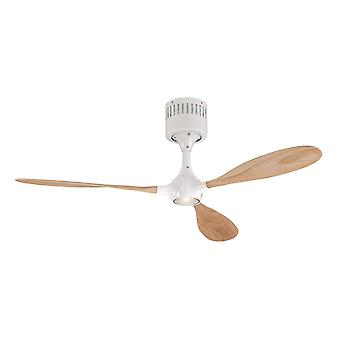 Ceiling fan Helico Paddel White / Beech with remote