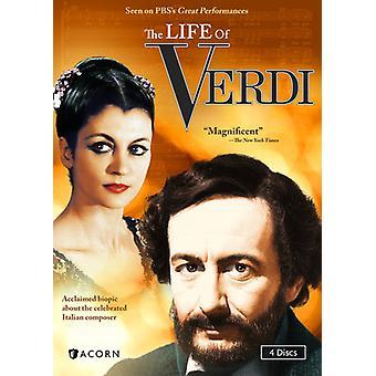 Vida de Verdi [DVD] importação EUA